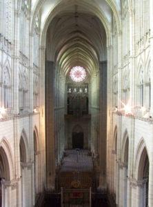 フランスアミアンの大聖堂